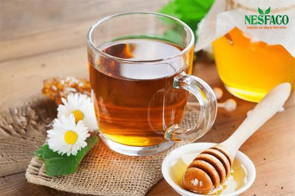 cao huyết áp uống mật ong