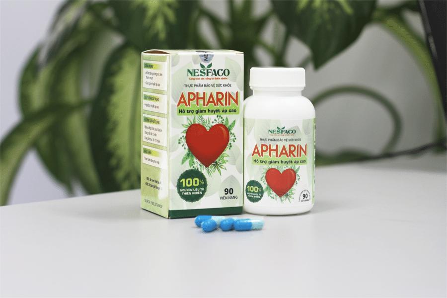 apharin chữa cao huyết áp
