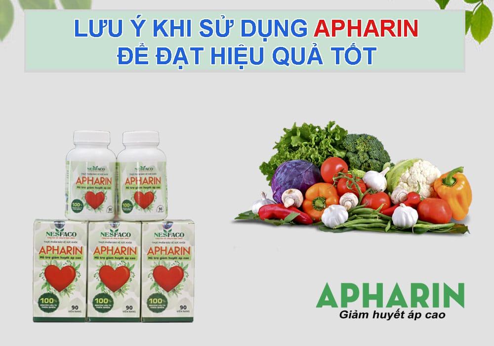 chữa cao huyết áp apharin